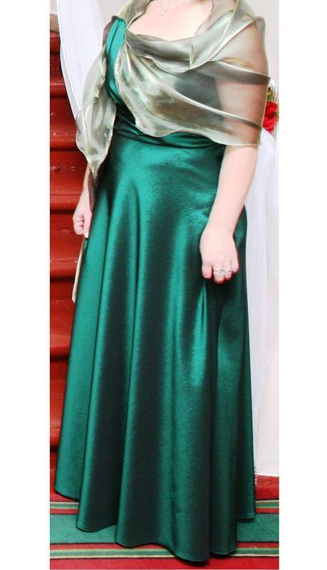 Роскошное длинное вечернее платье фирменное польша vera fashion