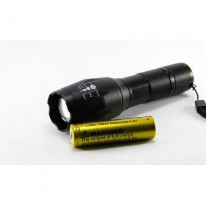 Тактический подствольный фонарь POLICE BL-8831 T6 150000W фона...
