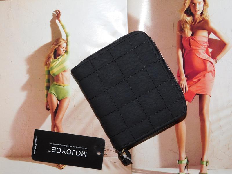 Женский стильный кошелек квадраты