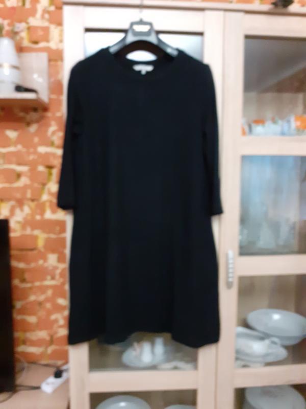 Базовое вискозное мягусенькое платье большого размера