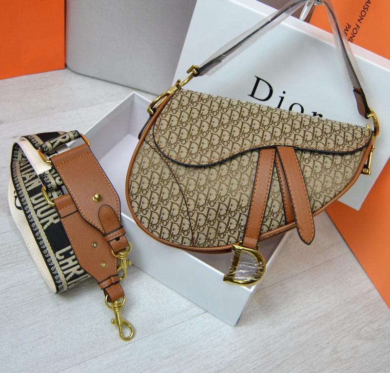 Сумка женская Диор  Dior Saddle