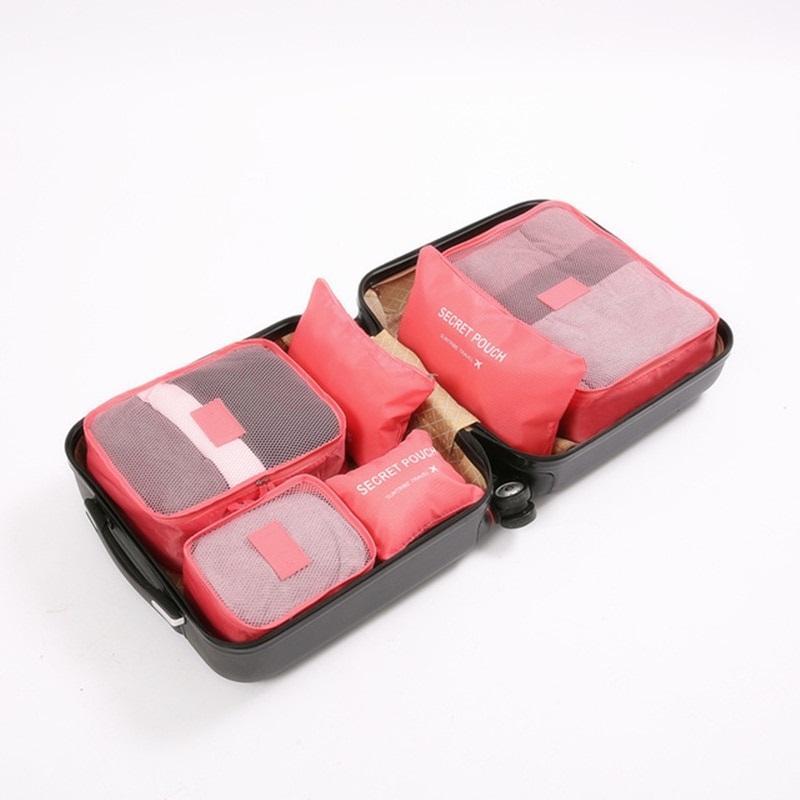 Набор дорожных сумок  для путешествий - 6 шт.