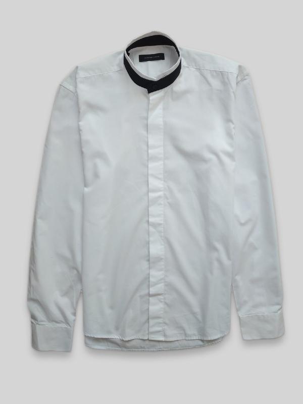 Рубашка без воротника selected homme красиво и стильно смотрит...