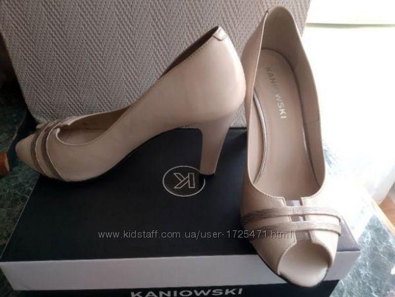 Туфли польского бренда Kaniowski (кожа)
