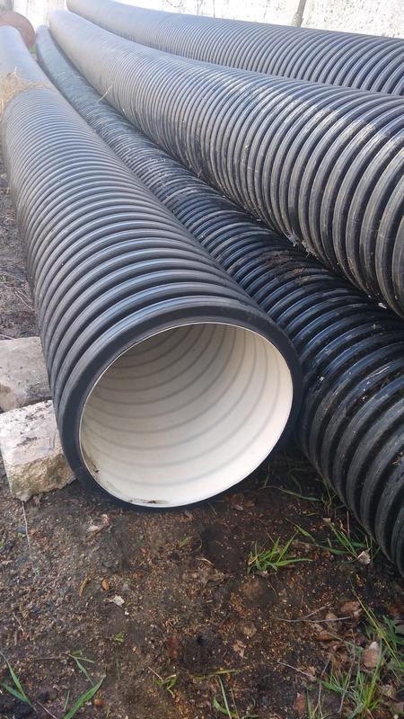 Духслойная гофрированная труба для безнапорной и ливневой канализ