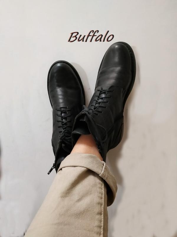 Ботинки женские классические  bufalo, брендовая обувь по супер...