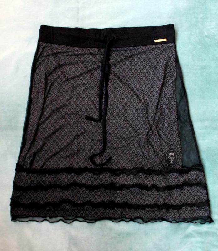 Vive maria стильная готическая юбка размер м (200 грн)