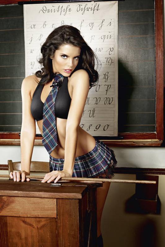 Эротический костюм школьница сексуальний комплект білизни 5178