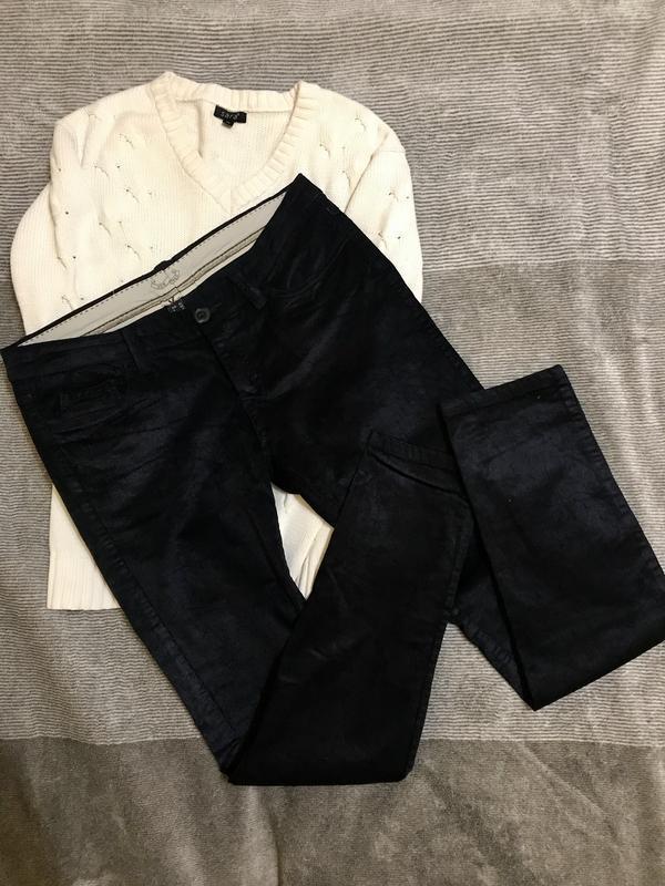 Стильные джинсы, микровильвет