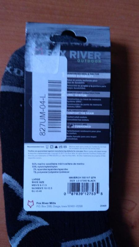 Носки с шерстью  мериноса fox river maverick оригинал из сша - Фото 3
