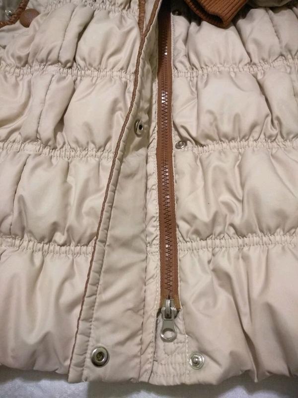 Пуховик. Пальто зимнее. Натуральный мех - Фото 5