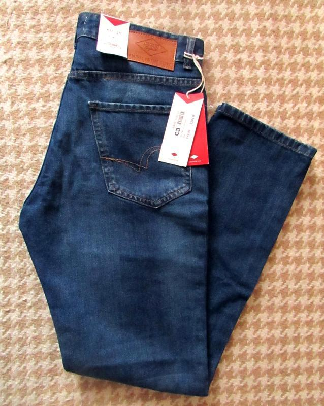 Классические мужские джинсы lee cooper w32 l32, оригинал
