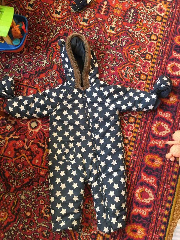 Набір теплих речей для хлопчика 9-12 місяців