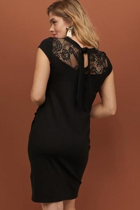 Новое нарядное маленькое черное платье платье h&m для беременн...
