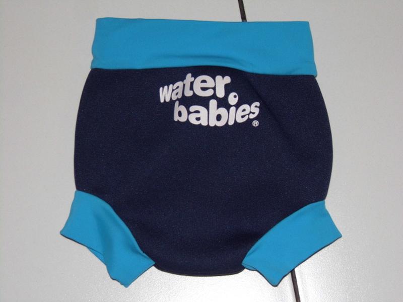 Неопреновый -подгузник, плавки для бассейна 3-6 мес. s - water...