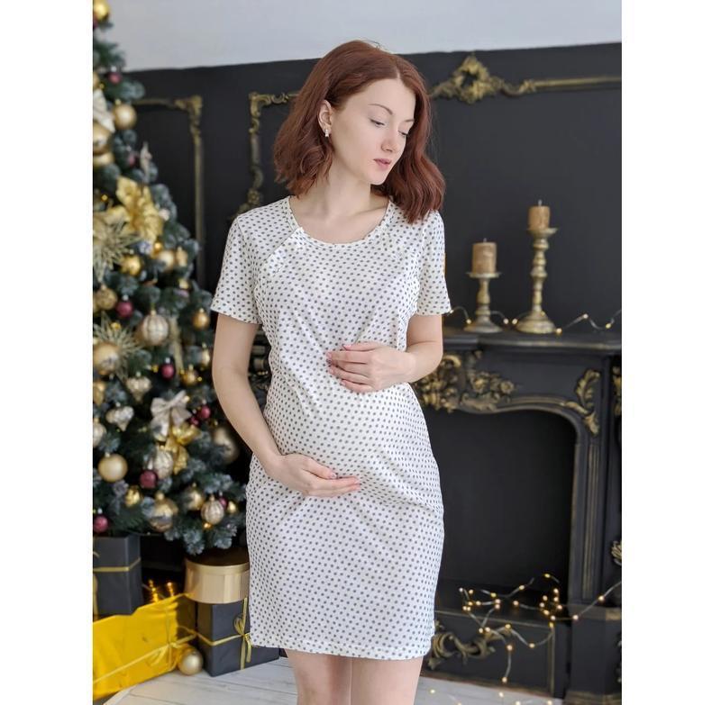 🌺 ночная рубашка для беременных и кормящих мам