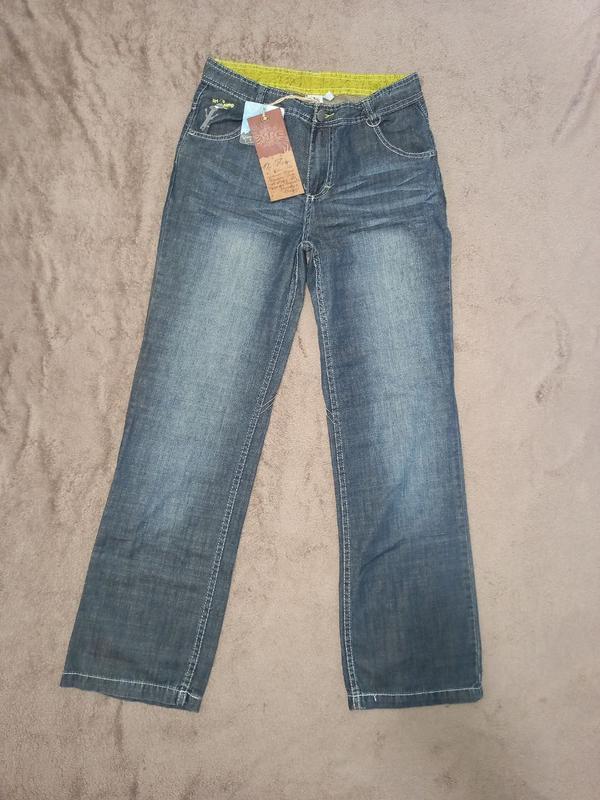 Штаны джинсы летние на мальчика 12-14 лет