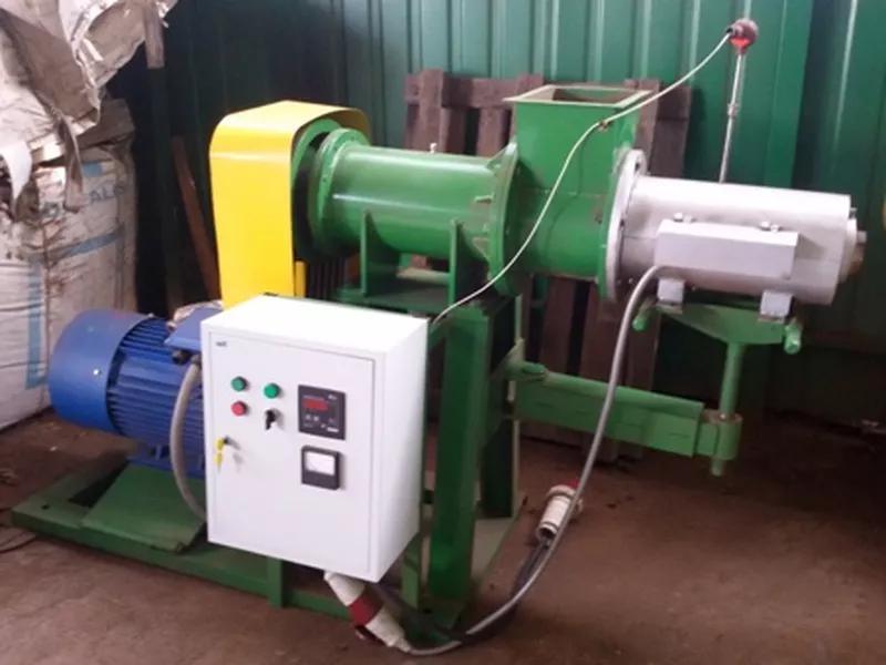 Пресс-брикетировщик для производства  топливных брикетов  400 кг