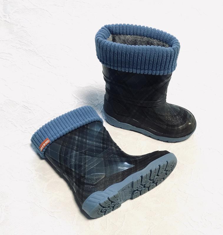 Резиновые сапожки сапоги для мальчика