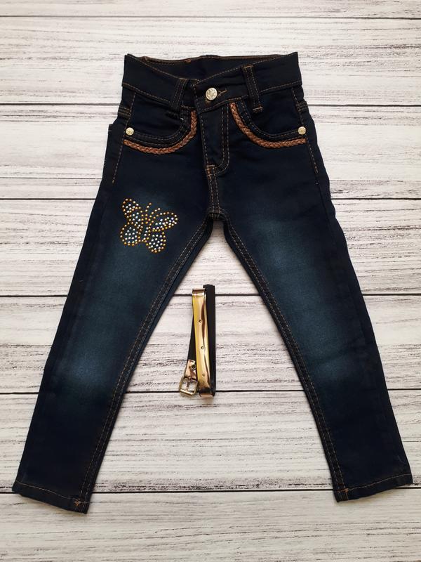 Новые джинсы для девочки турция