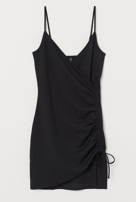 Новое черное платье сарафан h&m, под гольф или футболку. разме...