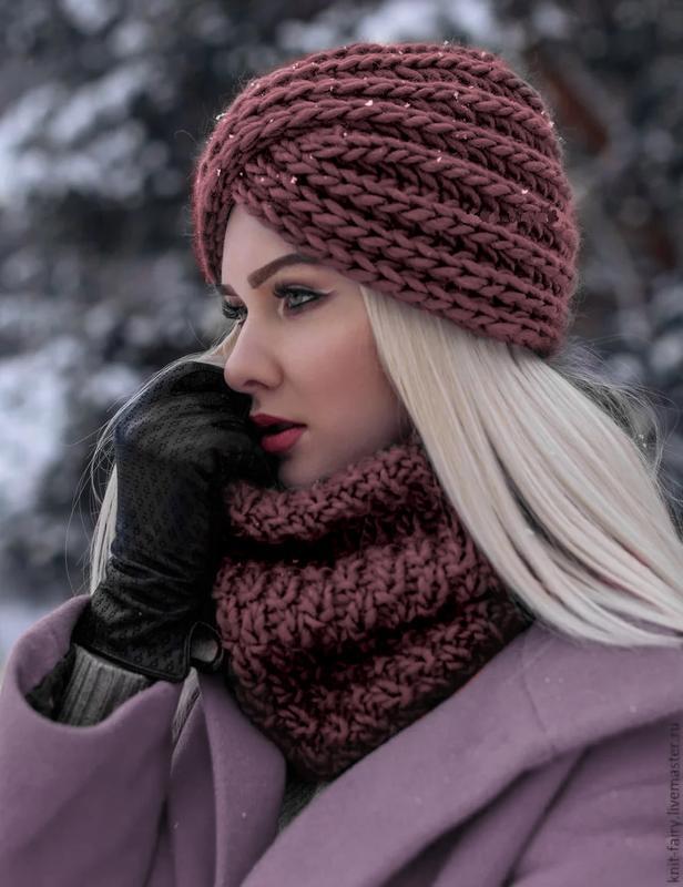 Стильно, модно, эффектно-чалма зима 2020г!№ 55а