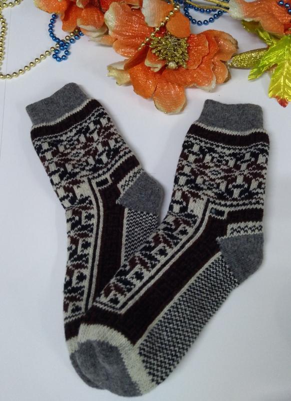 Мужские носки 100 % шерсть