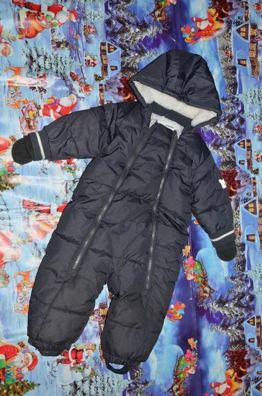 Зимний комбинезон kappahl швеция 80+6см на мальчика