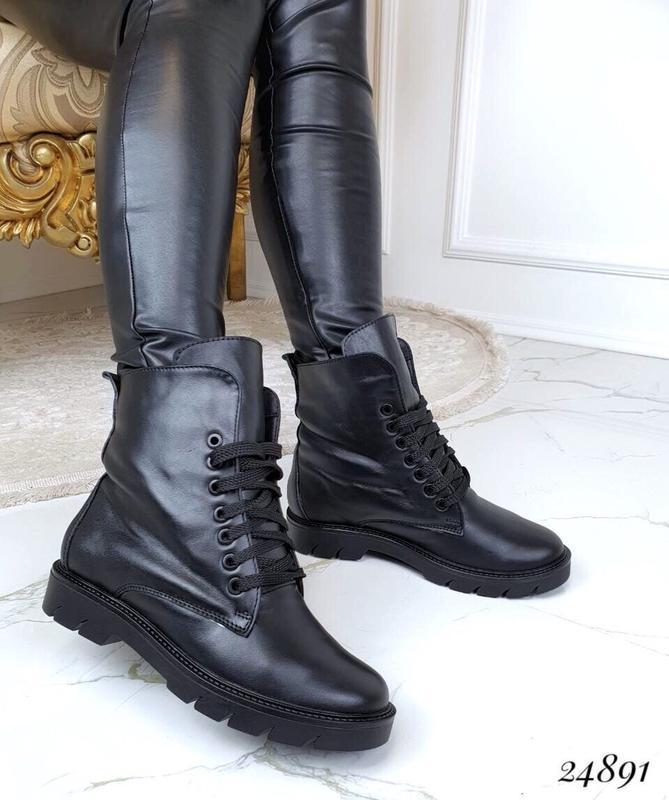 Кожаные зимние ботинки астоа