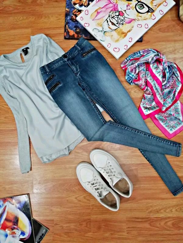 Женские мягкие комфортные джинсы - скинни mossimo - размер 44