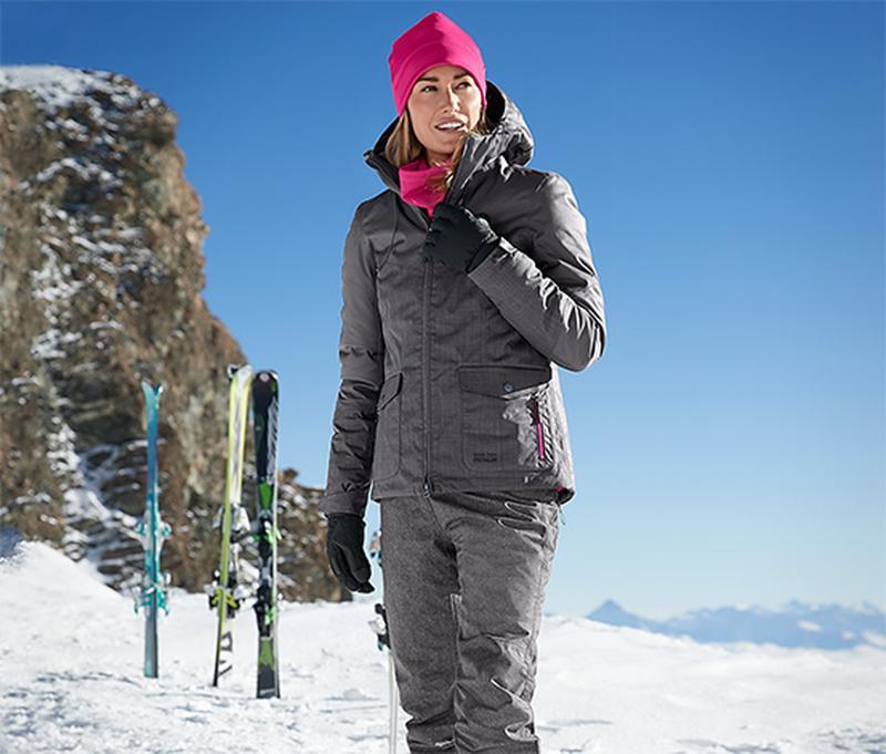 Крутая теплая лыжная куртка Snow Tech ТСМ Tchibo.  40 евро