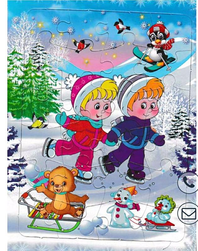 Картинки до зимових фызкультхвилинок