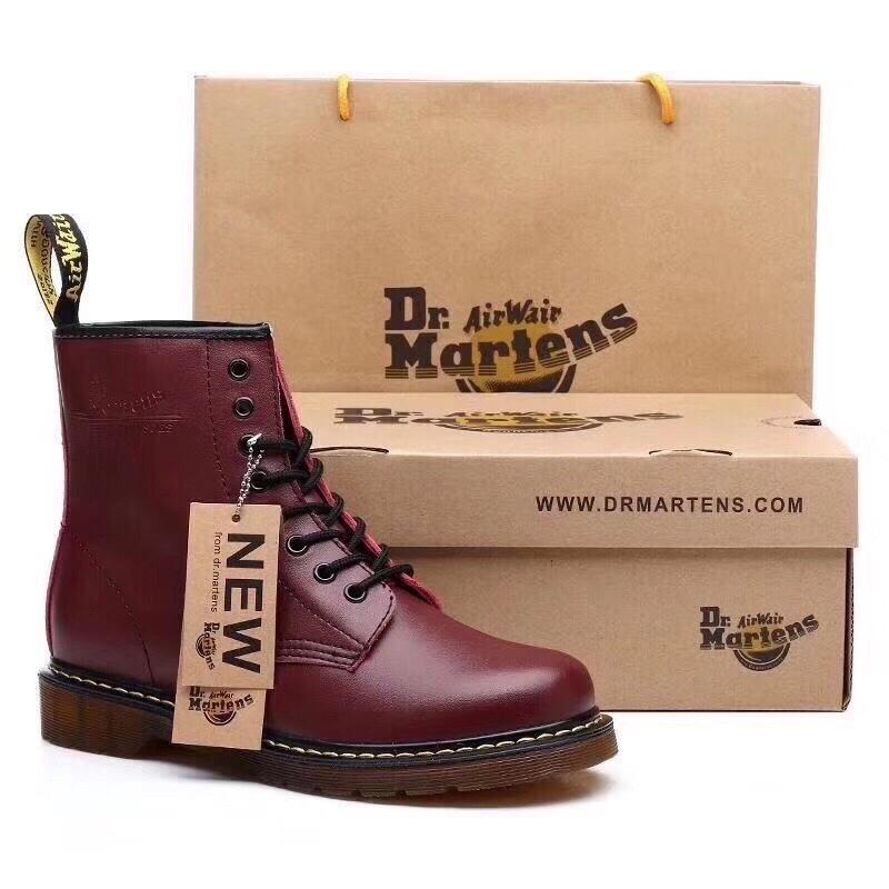Женские зимние кожаные ботинки/ сапоги dr. martens bordo fur 😍...