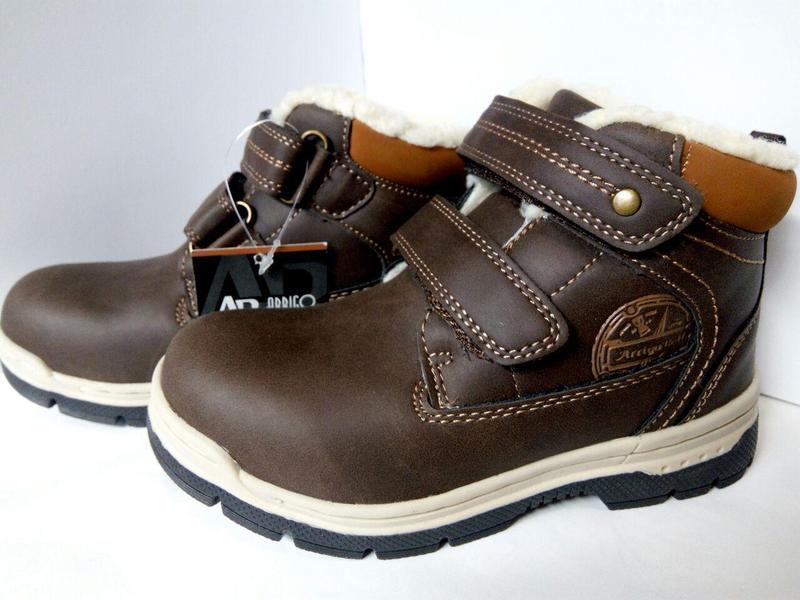 Ботинки детские, термо-ботинки, зимние, демисезонный, для маль...