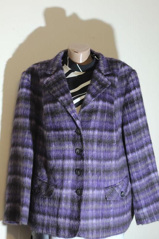 Шерстяной жакет,пиджак,кардиган, полу-пальто 58-60