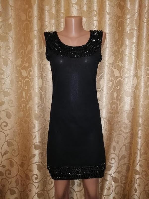 ✨👗✨красивое черное короткое женское вечернее, коктейльное плат...