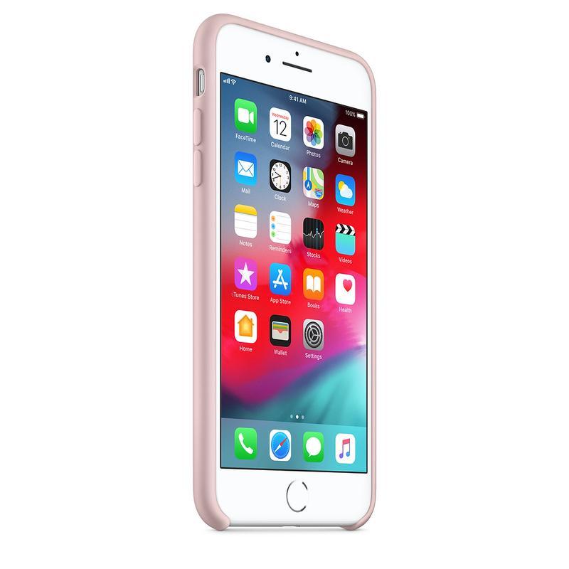 Силиконовый чехол для iPhone 7/8 plus, цвет «розовый песок» - Фото 2