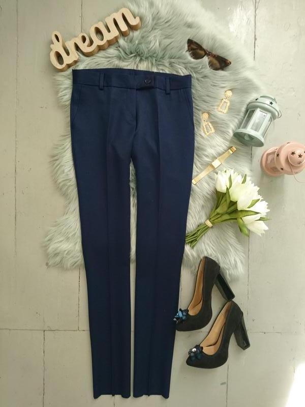 Актуальные шерстяные качественные классические зауженные брюки...