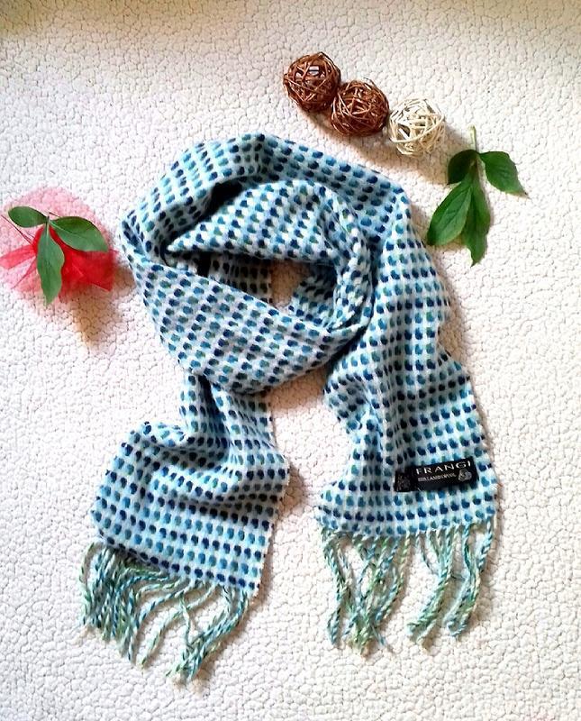 Классный шарф в орнамент шерсть
