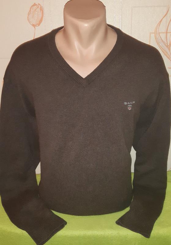 Стильный пуловер gant