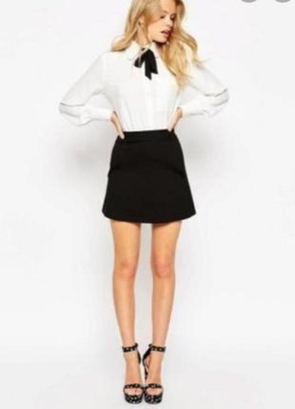 Актуальная вельветовая юбочка h&m