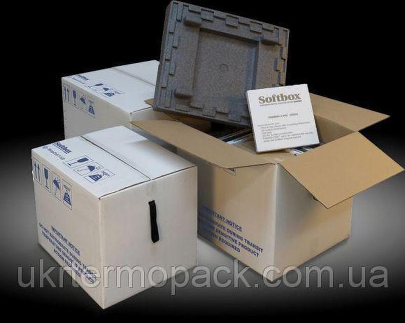 Термобокс, термоконтейнер, термоящик. Softbox. 40 литров