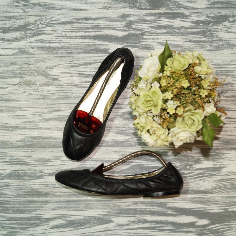 🌿39🌿l. k. bennett. кожа. стильные и комфортные туфли, балетки