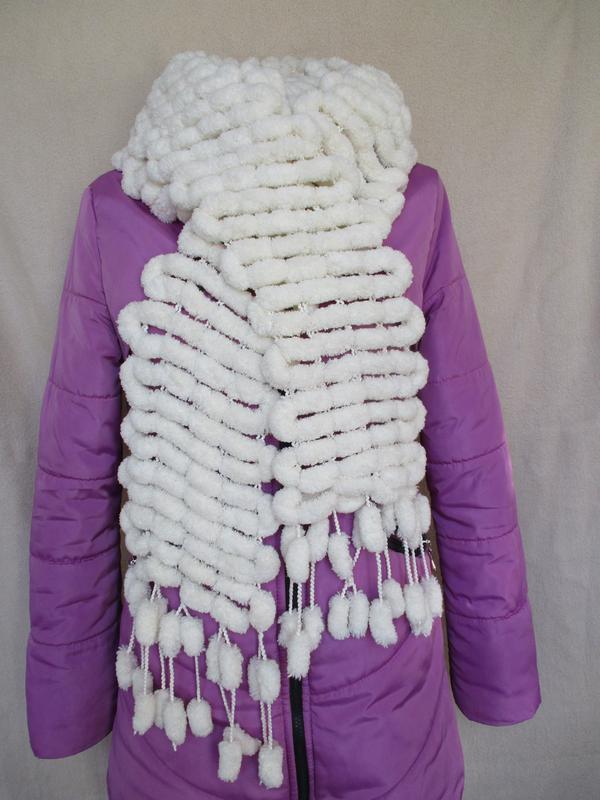 Шикарный воздушный шарф