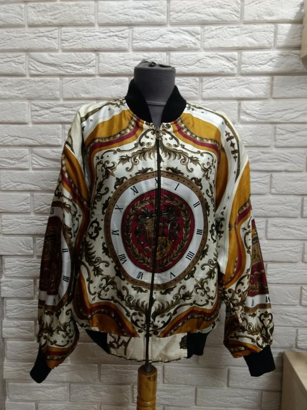 Эксклюзивная двухсторонняя куртка винтаж