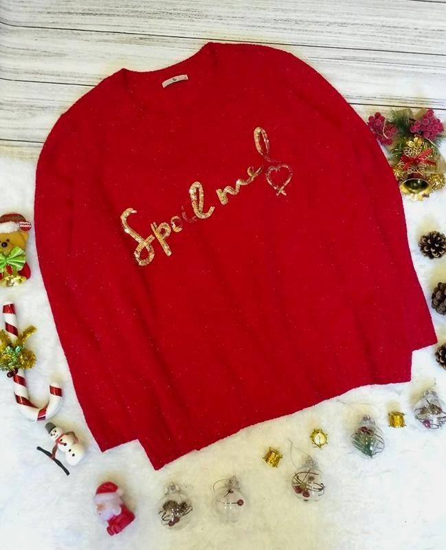 Новогодний велюровый,  свитер шенилловый синелевый с пайетками...