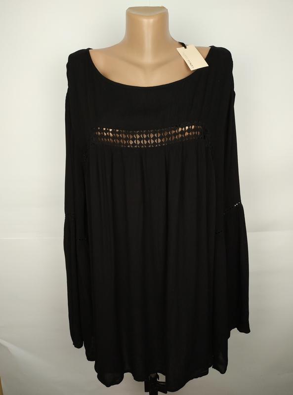 Блуза новая красивая натуральная большой размер uk 24/52/5xl