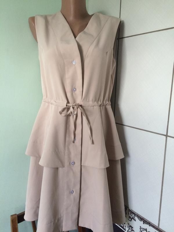 Платье трикотажное, с карманами, платье оверсайз