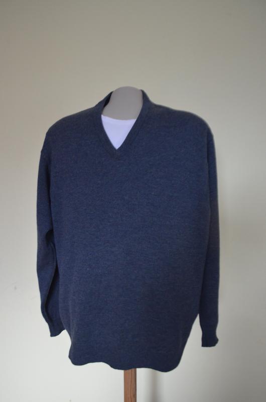 Красивая качественная мужская кофта джемпер шерсть100%