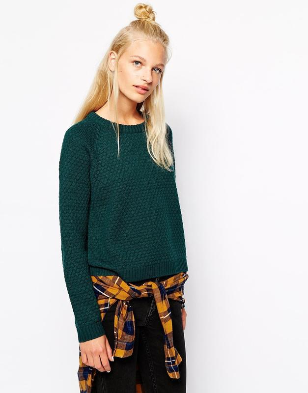Шерстяной свитер monki
